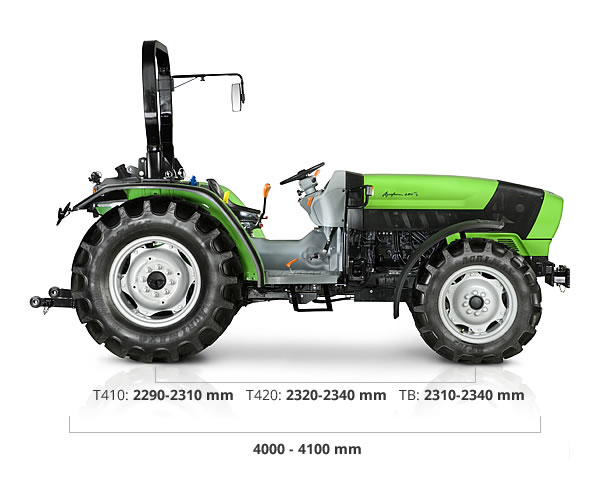 Specifications - Agrofarm T-TB