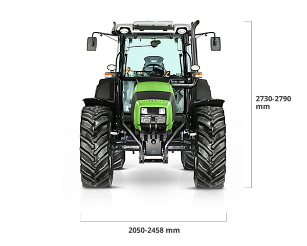 Specifications - Agrofarm TTV/ProfiLine