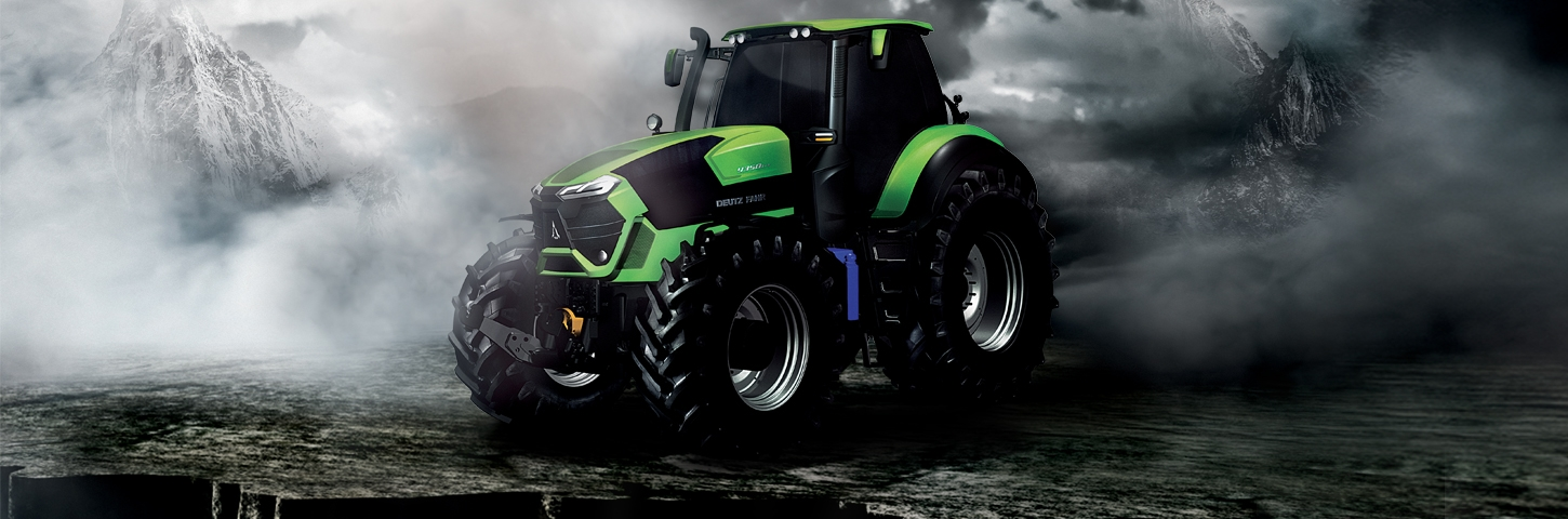 9 Series DEUTZ-FAHR.  WELCOME TO A NEW ERA OF PRODUCTIVITY.